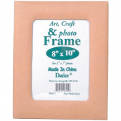 Paper-Mache Frame 20cm x 25cm -13cm x 18cm Photo Opening W/Easel Back