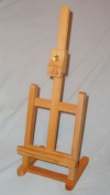 46cm Tall Stained Wood Table Top Easel Is Great for Painting or Display