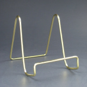 Smooth Brass Wire Easel 7.6cm Pack of 6 Free Freight!
