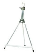 Testrite Visual Products, Inc. 153 Aluminium Table Easel table easel