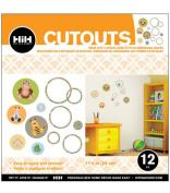Hip In a Hurry 3D Decor Cut Outs 33cm -Safari 2