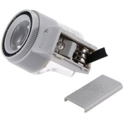 Pocket 8x Led Lights Scale Measuring Reading Magnifier Magnifying Eye Cylinder Loupe Glass Mg1300-2