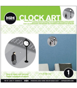 Hip In a Hurry 3D Decor Clock Kits 28cm -Clock Tower