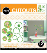 Hip In a Hurry 3D Decor Cut Outs 33cm -Monkey 2