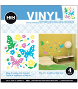 Hip In A Hurry Vinyl 28cm -Butterfly Multi