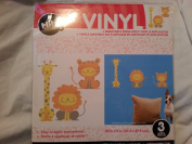 HIH VINYL HOME DECOR- LIONS, TIGERS AND GIRAFFES