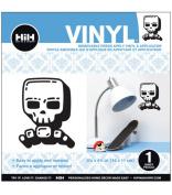 Hip In A Hurry Vinyl 11cm Minis-Cool Skull