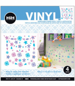 Hip In A Hurry Vinyl 28cm -Flower Lavender Heart