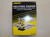 Enkay 4025 Helping Hands with Soldering Stand, Led Light and 2x 6x Magnifier.