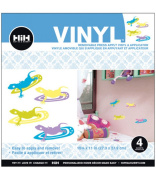 Hip In A Hurry Vinyl 28cm -Multi Geckos