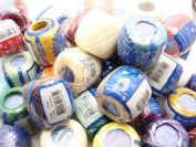 Lot Set 20 Balls of Torcal Size 5 Perle/pearl Cotton Threads for Crochet, Hardanger, Cross Stitch, Needlepoint Hand Embroidery