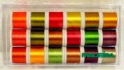 Madeira 18 Spool Autumn Collection Madeira Rayon Thread 8040AC