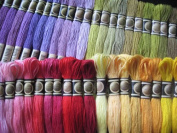 447 Colours of Cross Stitch Floss Embroidery Threads