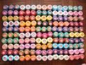 Huge Lot 150 Balls of Rubi Size 8 Perle/pearl Cotton Threads for Crochet, Hardanger, Cross Stitch, Needlepoint Hand Embroidery. Bright Colours. Top Quality