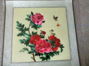 Chinese Suzhou Embroidery Collection - Chinese Subshrubby Peony - Medium size