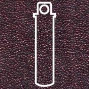 Metallic Rasberry 15/0 Round Miyuki Seed Beads Apx 8.2g Tube
