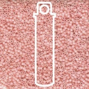 Light Salmon Opaque Matte (Db1513) Delica Myiuki 11/0 Seed Bead 7.2 Gramme Tube Approx 1400 Beads