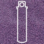 Dyed Opaque Lavender (Db660) Delica Myiuki 11/0 Seed Bead 7.2 Gramme Tube Approx 1400 Beads