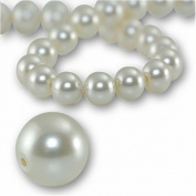 100 Round Pearl 4mm. CREAMROSE 5810 Crystal Beads.
