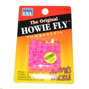 HOWIE BEADS PINK GLOW #6
