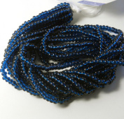 Montana Transparent Czech 6/0 Seed Bead on Loose Strung 6 String Hank Approx 900 Beads