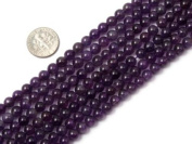 "6mm Round amethyst Beads Strand 15"" Jewellery Making Beads"