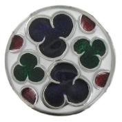 Eligo Jewellery 30mm Coloured Ornament XL Chunk compatible only with Eligo 30mm XL Chunk Bracelets