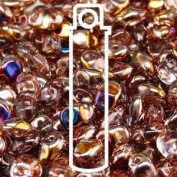Crystal Sliperit 2.5x5mm 1 ONE Hole Fringe Beads Czech Glass Seed Beads 20 Gramme Tube