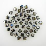 48 4mm. crystal bicone 5301 Crystal Tabac