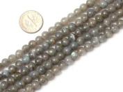 "6mm 8mm 10mm 12mm Round Labradorite Beads Strand 15"" Jewellery Making Beads"