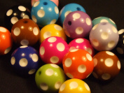 Domino Style Beads - assorted lot of 10