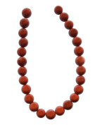 Tennessee Crafts 1322 Semi Precious Red Jasper Beads, Round, 8mm