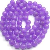 Purple Jade - Smooth Round 10mm