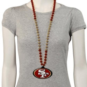 San Francisco 49ers Marti Gras Beads by ETON