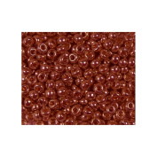 Dark Berry 20 Grammes Miyuki Round Rocailles 6/0 Seed Bead Duracoat Galvanised Approx 20 Gramme Tube