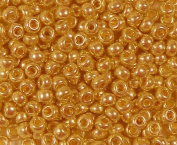Yellow Gold 20 Grammes Miyuki Round Rocailles 6/0 Seed Bead Duracoat Galvanised Approx 20 Gramme Tube