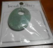 Bead Gallery Aventurine Pendant 35X45MM