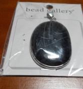 Bead Gallery Black Onyx Semi Precious Pendant