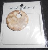 Bead Gallery Coral Fossil 40mm Agogo Semi Precious Stone Bead