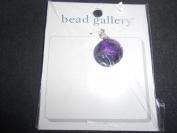 Bead Gallery CZ Amethyst Diamond Pendant