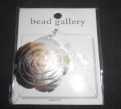 Bead Gallery 50mm Natureal Flower Shell Pendant Bead