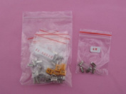 Crystal Resonators Assorted Kit 10 value total 50pcs crystal assortment kit