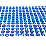 AllyDrew 6mm Crystal Diamond Adhesive Rhinestones, 500 pieces