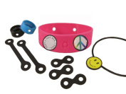 Barnacles Accessories Set, w/ Large Pink Bracelet