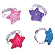 Bling Star Rings (3 dz)