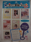 Frances Meyer Memories to Keep! Baby Faces Decorative Scrapbook Page Kit for Girl or Boy
