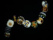 Handmade Designer Lampwork Glass Jewellery Loose Beads Kit Lot Lw2
