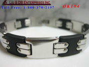 MEN'S STAINLESS STEEL BRACELET OK104