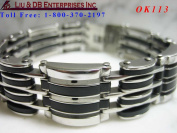 MEN'S STAINLESS STEEL BRACELET OK113