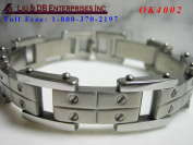 LDB MEN'S STAINLESS STEEL BRACELET OK4002
